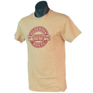 Yellow Silverton Hotel tshirt