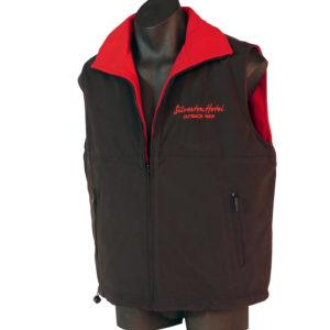 Red black Vest