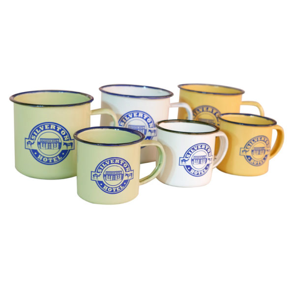 Silverton Hotel Pannikin Cups