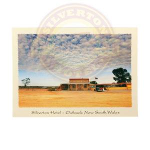 Silverton hotel Postcard