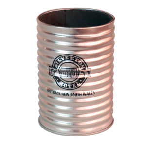 Stubby Holder - Silver TIn